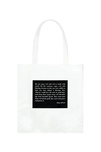 Forever21 Bible Verse Graphic Tote