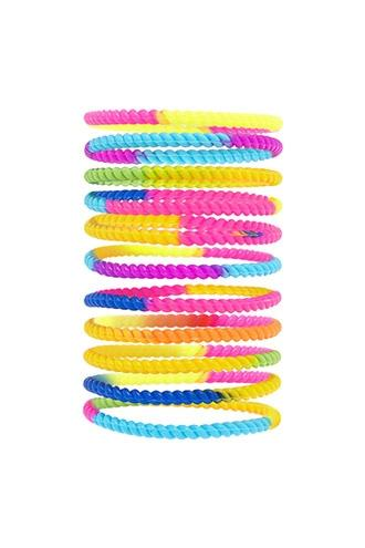 Forever21 Tie-dye Twisted Bracelet Set
