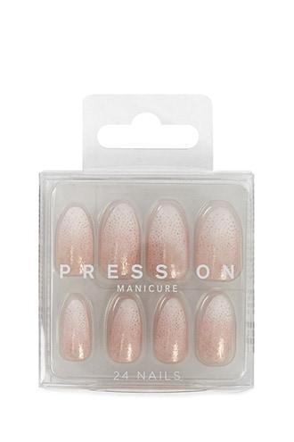 Forever21 Ombre Glitter Press-on Nails