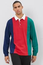 Forever21 Colorblock Polo Shirt