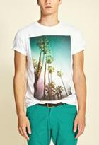 Forever21 Palm Tree Tee
