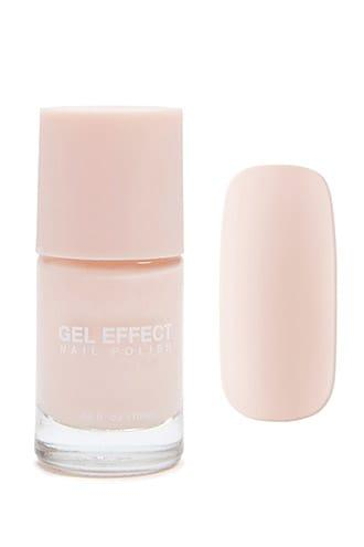 Forever21 Pink Gel Effect Nail Polish