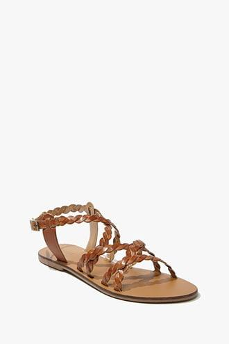 Forever21 Twisted  Leather Sandals