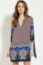 Love21 Women's  Contemporary Paisley Mini Dress