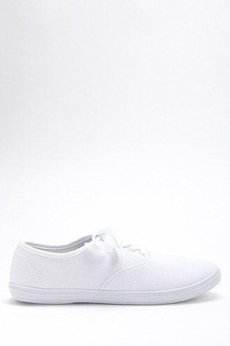 Forever21 Canvas Low-top Sneakers