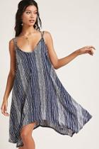 Forever21 Striped Handkerchief Dress