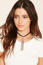 Forever21 Faux Leather Snake Choker
