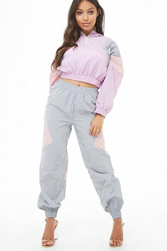 Forever21 Colorblock Wind Pants