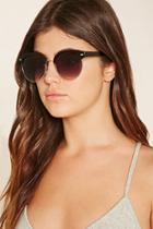 Forever21 Contrast Browline Sunglasses
