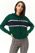 Forever21 Colorblock French Terry Hoodie