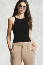 Forever21 Ribbed Sweater Knit Tank Top
