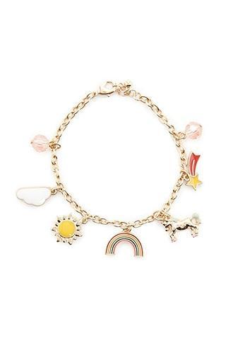 Forever21 Unicorn Charm Bracelet