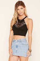 Forever21 Crochet Crop Top