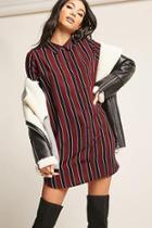 Forever21 Stripe Shirt Dress