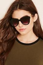Forever21 Gradient Geo-shape Sunglasses