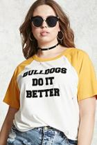 Forever21 Plus Size Bulldogs Tee