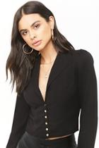 Forever21 Button Front Blazer