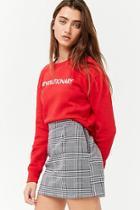 Forever21 Houndstooth Mini Skirt