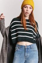 Forever21 Chenille Striped Sweater