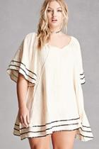 Forever21 Velzera Cotton Gauze Tunic
