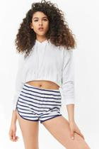 Forever21 Striped Dolphin Shorts