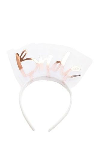 Forever21 Bride Embellished Headband