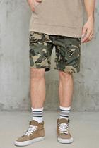 Forever21 Camouflage Drawstring Shorts