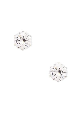 Forever21 Oversized Cubic Zirconia Studs