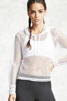 Forever21 Active Mesh Hoodie