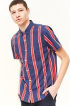 Forever21 Striped Short-sleeve Shirt