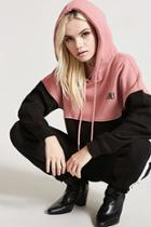 Forever21 Babes Only Colorblock Hoodie