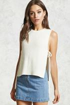 Forever21 Sleeveless Sweater Knit Top
