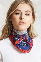 Forever21 Paisley Square Scarf