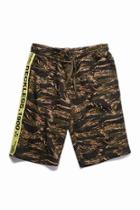 Forever21 Young & Reckless Camo Print Shorts