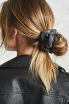 Forever21 Iridescent Hair Scrunchie