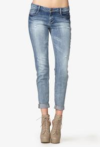 Forever21 Distressed Skinny Jeans