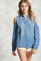 Forever21 Contemporary Chambray Shirt