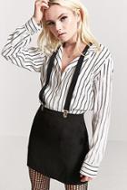 Forever21 Suspender Mini Skirt