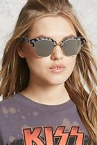 Forever21 Mirrored Tortoise Sunglasses