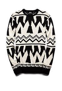 Forever21 Bold Tribal-inspired Sweater