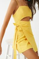 Forever21 Cutout Wrap Dress