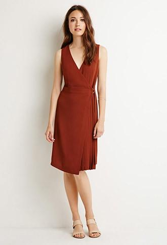 Love21 Belted Wrap Dress