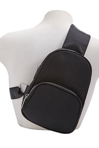 Forever21 Woven Mini Backpack