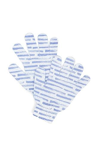 Forever21 Paint Stroke Print Exfoliating Gloves