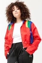 Forever21 Plus Size Colorblock Zip-front Jacket