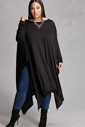 Forever21 Plus Size Handkerchief Top