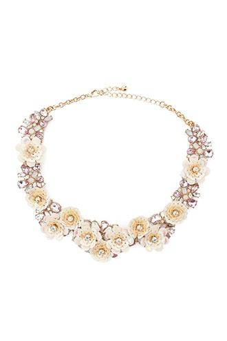 Forever21 Floral Statement Necklace