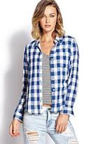 Forever21 Gingham Plaid Shirt