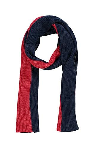 Forever21 Ribbed Colorblock Oblong Scarf