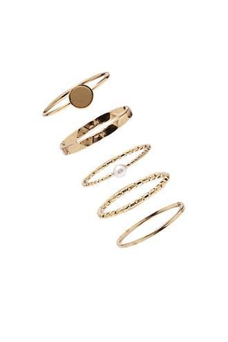 Forever21 Filament Stackable Ring Set